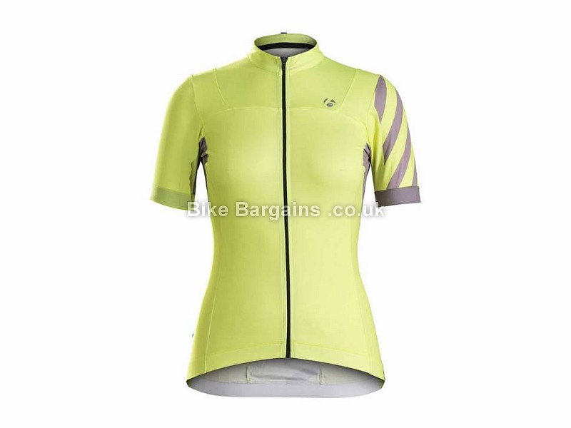 Bontrager Meraj Halo Ladies Short Sleeve Jersey L, Yellow