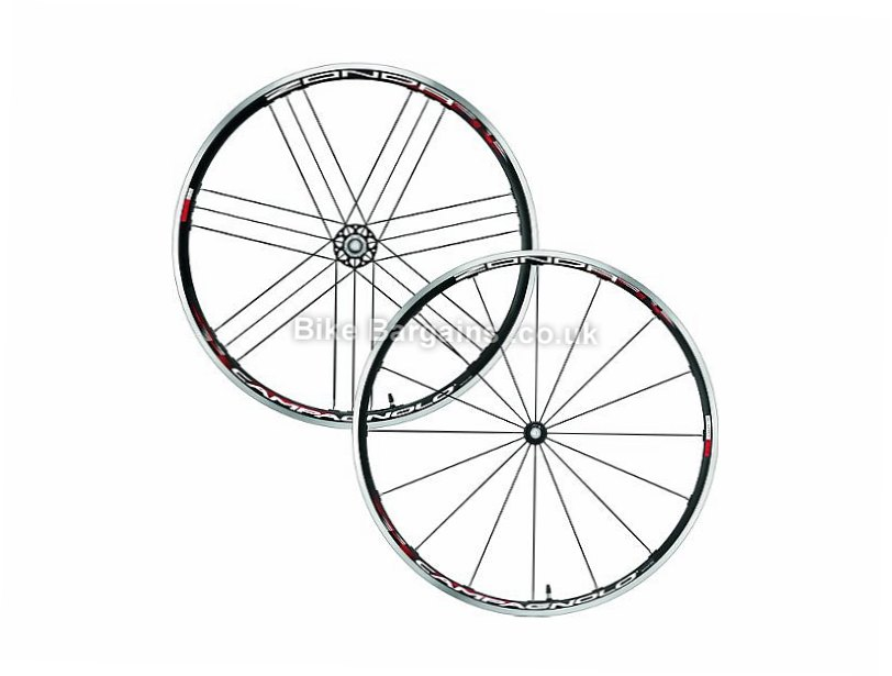 Campagnolo Zonda C17 Clincher Road Wheels 700c, Black, Campag