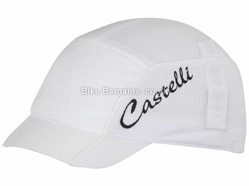 Castelli Ladies Summer Cycling Cap One Size, White