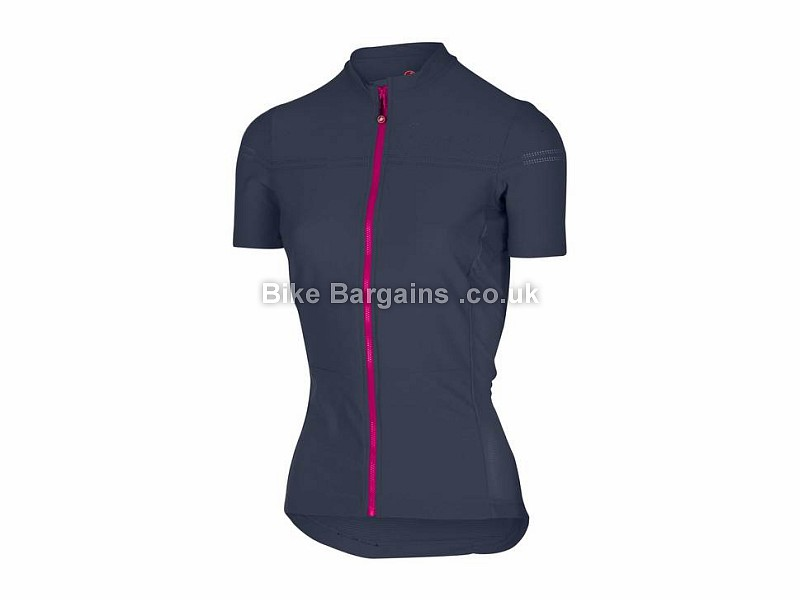 Castelli Promessa 2 Ladies Short Sleeve Jersey M, Blue