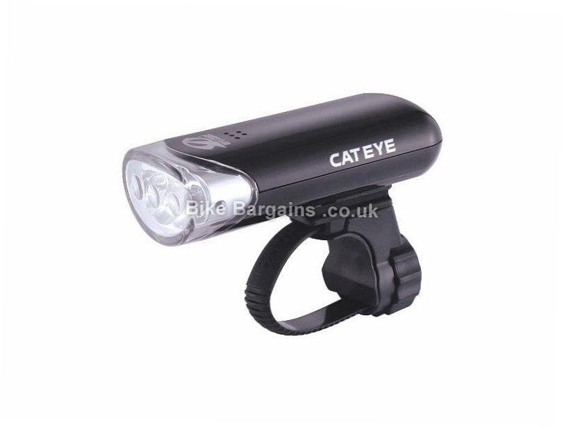 Cateye El135 3 Led Front Bike Light 2018 3 LEDS, Black