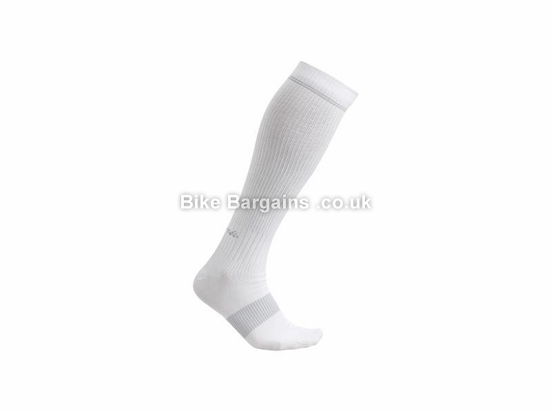 Craft Compression Socks XS, S, M, L, XL, White