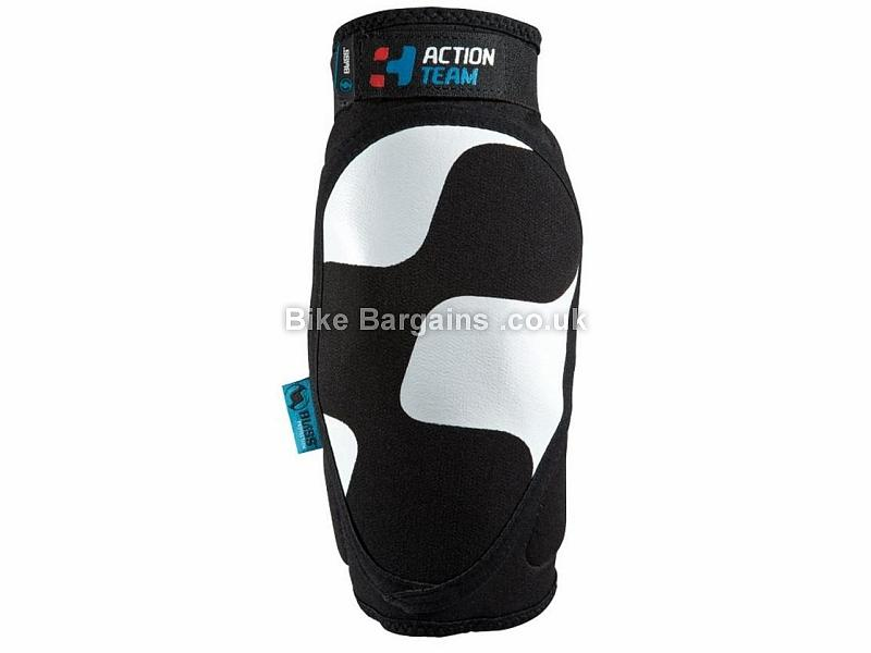 Cube Action Team Elbow Pads XS,S,M,L,XL, Black, White