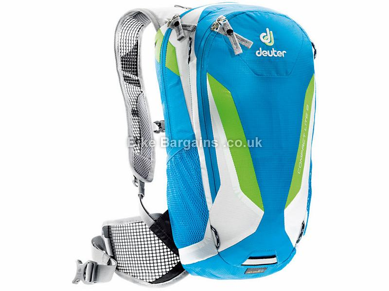 Deuter Compact Lite 8 Backpack 2017 Blue, Grey, Green, 8 Litres, 670g