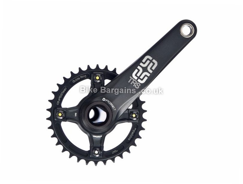 E Thirteen TRS AM Single MTB Chainset 175mm, Black, 10 Speed, Alloy