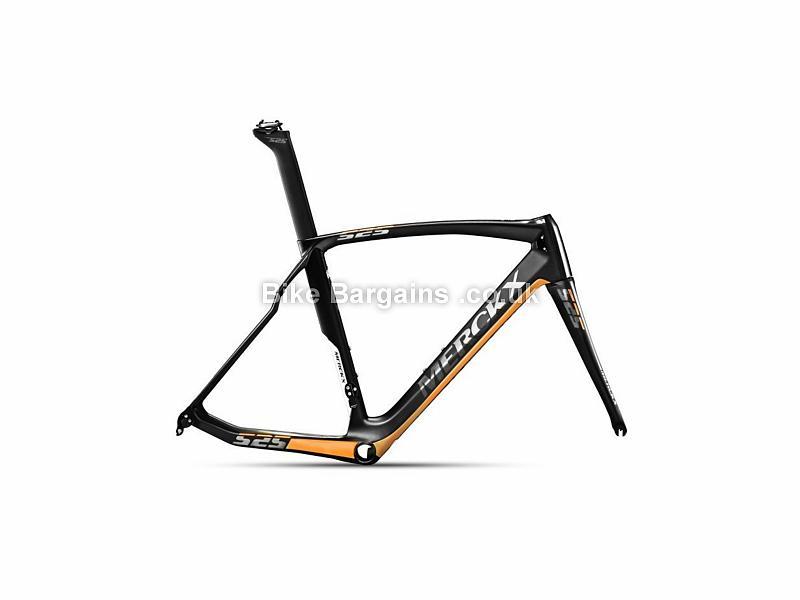 Eddy Merckx EM525 Performance Carbon Caliper Road Frame 2017 XL,XXL, Black, Carbon, 900g, Caliper Brakes, 700c