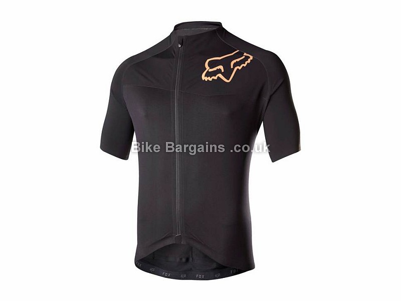 Fox Clothing Ascent Pro Short Sleeve Jersey L, Black