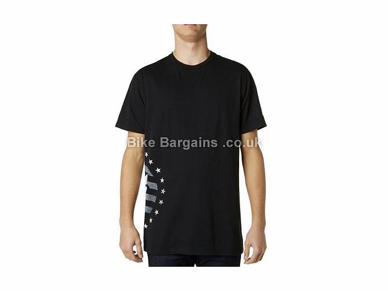 Fox Racing Devilish Way Short Sleeve T-Shirt S,M,L, White