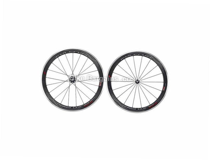 Fulcrum Red Wind H50 XLR Dark Wheels Shimano, 700c, Carbon, 10 Speed, 11 Speed