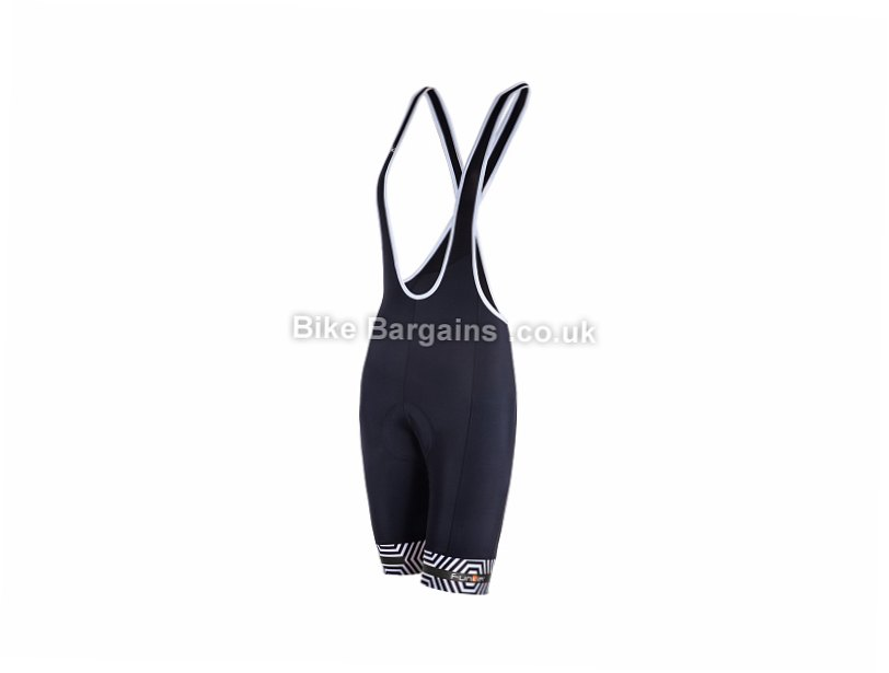 Funkier Havana Ladies Bib Shorts Black, XS, L