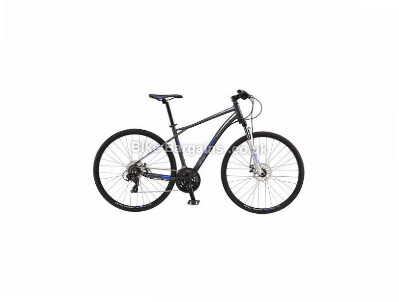 GT Transeo 5.0 Alloy Hybrid City Bike 2017 S, Grey, Alloy, 700c