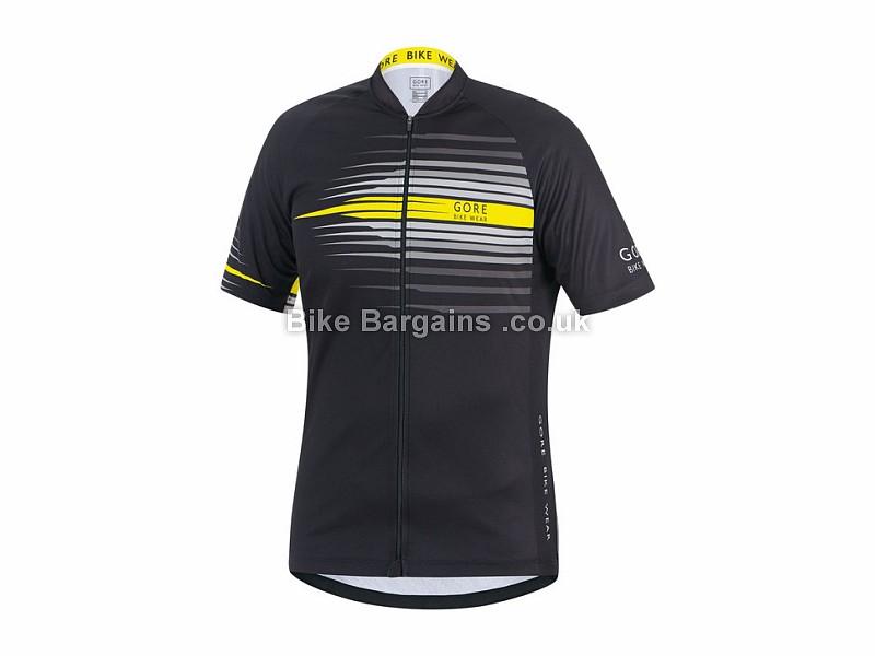 Gore Bike Wear Element Razor Short Sleeve Jersey S, Black