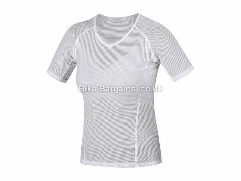 Gore Lady Short Sleeve Ladies Base Layer XS,S,M,L,XL, White