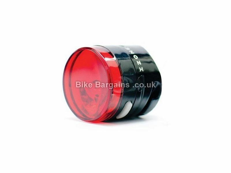 Izone Pulse Rear Light Black, Red, 0.5 Watts