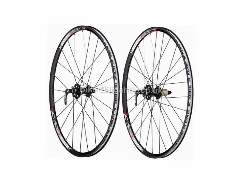 "Kore XCD SL MTB Wheels 26"", Black, 8 Speed, 9 Speed, 10 Speed"