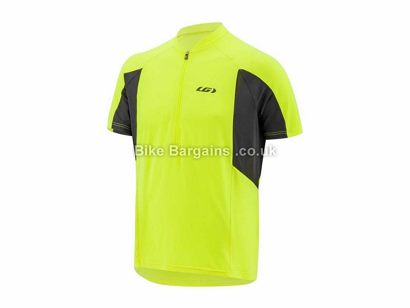 Louis Garneau Connection Short Sleeve Jersey L, Yellow