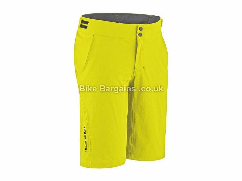 Louis Garneau Connector Baggy Shorts XL, Yellow
