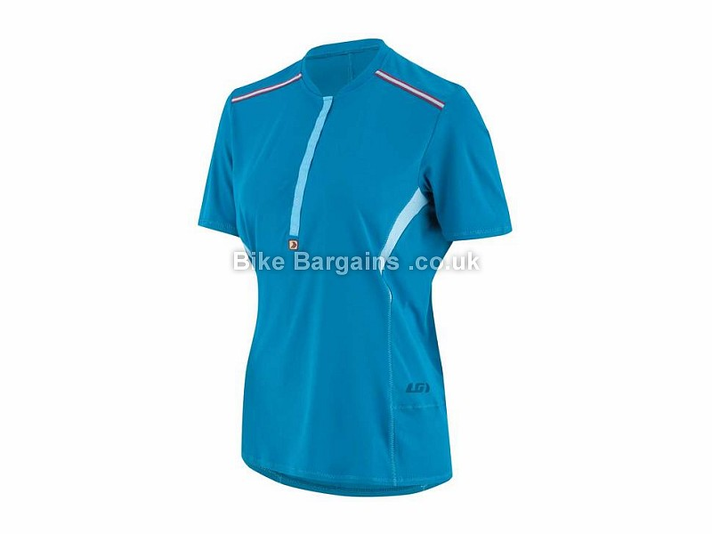 Louis Garneau East Branch Ladies Short Sleeve Jersey XS,S,M, Yellow, Purple, Blue