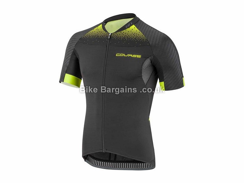 Louis Garneau Elite M-2 RTR Short Sleeve Jersey M, Black, Yellow