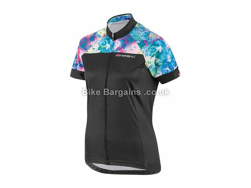 Louis Garneau Equipe Ladies Short Sleeve Jersey XS, Black, White