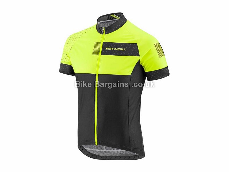 Louis Garneau Equipe PS Short Sleeve Jersey S, XXL, Blue, White, Green