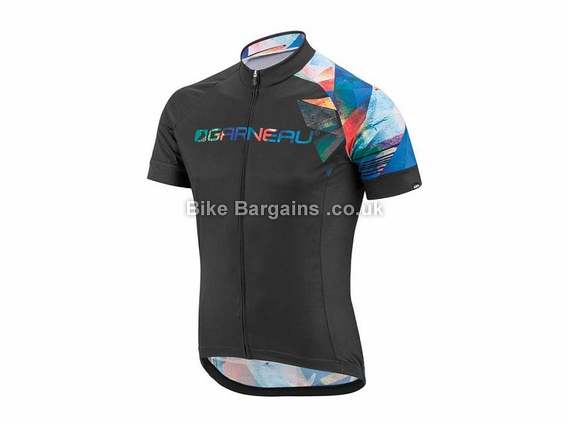 Louis Garneau Equipe Short Sleeve Jersey S,M,L,XL,XXL, Blue, Grey, White
