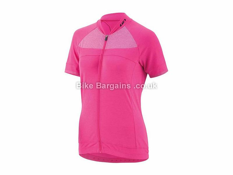 Louis Garneau Ladies Beeze 2 Short Sleeve Jersey XS, Blue - S,M,L, Grey are extra