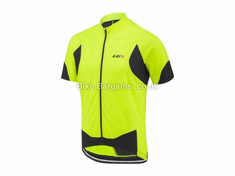 Louis Garneau Metz Lite Short Sleeve Jersey S, Black, Grey