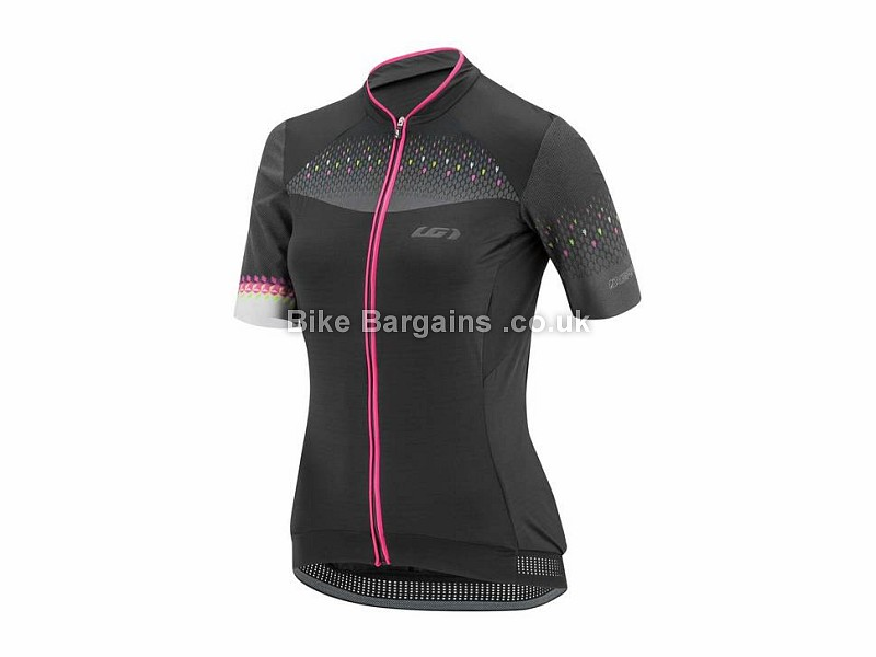Louis Garneau Stunner RTR Ladies Short Sleeve Jersey XS, Black