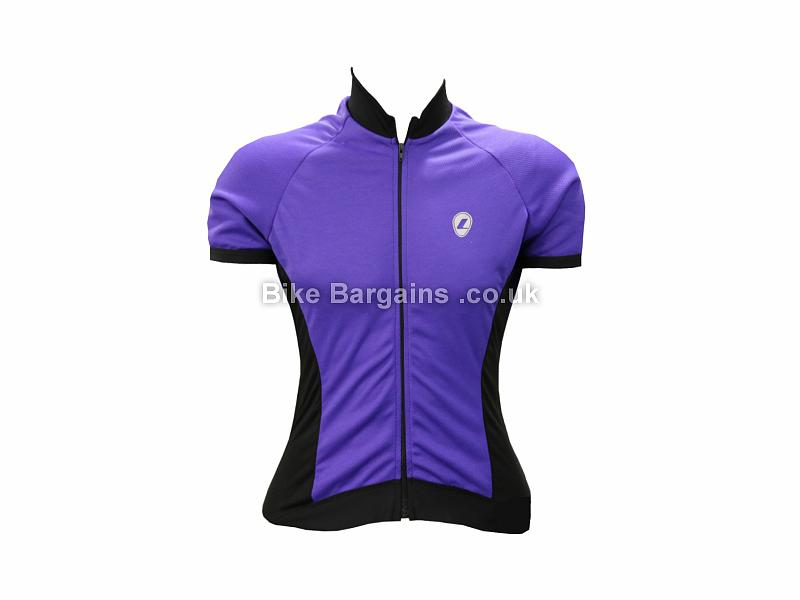 Lusso Apollo Ladies Short Sleeve Jersey L, Purple