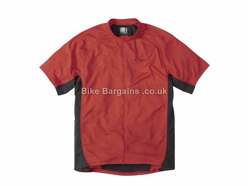 Madison Trail Short Sleeve Jersey S,M,L,XL,XXL, Red