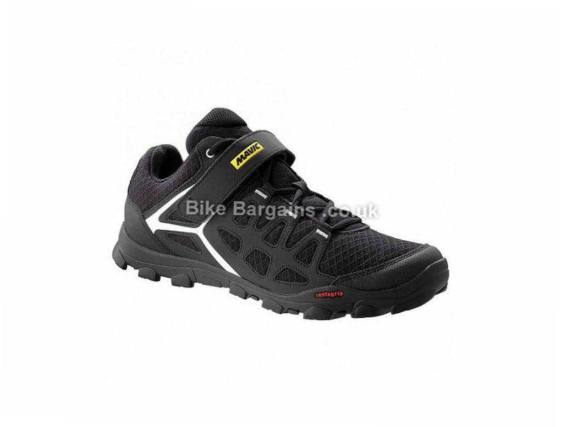Mavic Crossride MTB SPD Shoes 11, 12, Black, Yellow, White