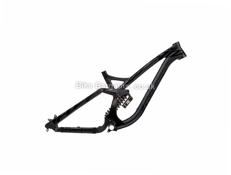 "NS Bikes Fuzz 650 Vivid R2C 27.5"" Alloy Full Suspension Mountain Bike Frame 2016 S, 209mm travel, Black, 27.5"", 3.65kg, Alloy, Full Sus"