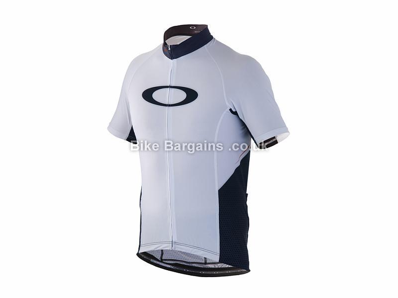 Oakley Jawbreaker Short Sleeve Jersey XXL, Black