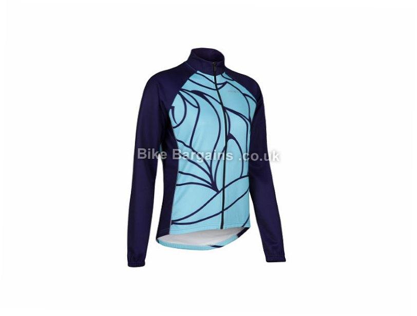 Primal Athene Second Layer Ladies Jacket XS,S, Blue, Women's, Long Sleeve, 290g
