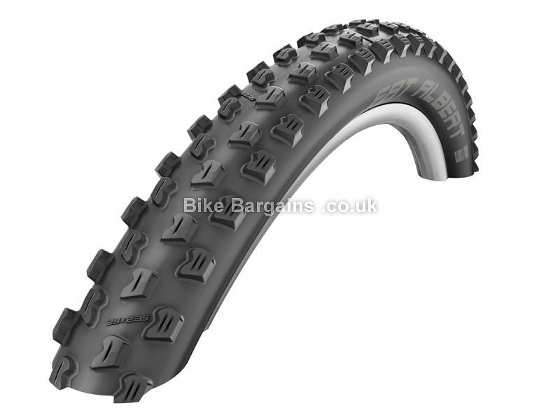"""Schwalbe Fat Albert SnakeSkin Folding Tyre 27.5"""", 2.35"""", Front, Rear, Black, Kevlar"""