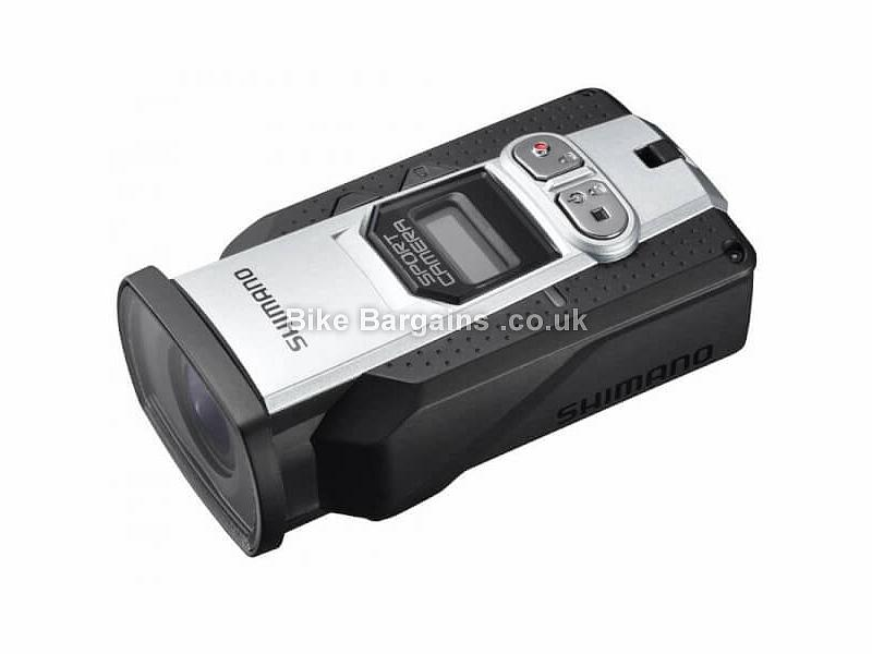 Shimano CM-2000 1080p Action Sports Camera 2560 x 1440 30fps, black, silver