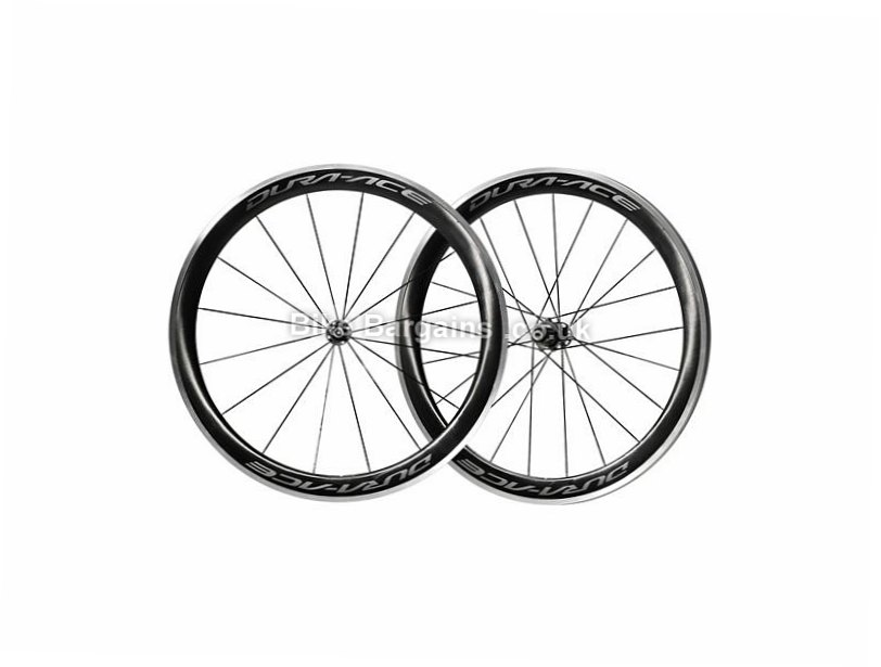 Shimano Dura-Ace R9100 C60 Clincher Wheels 700c, Black, 9 Speed, 10 Speed, 11 Speed