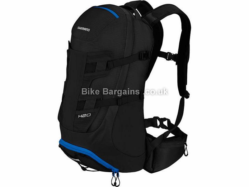 Shimano H20 Mountain Bike Backpack Black, 20 Litres, 875g