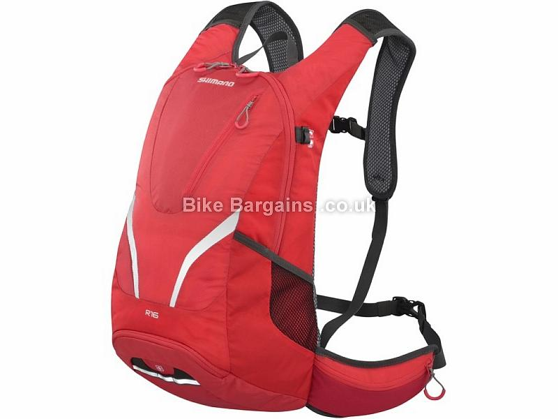 Shimano R16 All-Round Backpack Red, 16 Litres