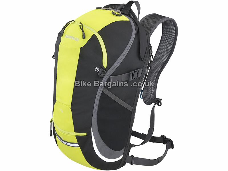 Shimano T15 Commuting Backpack Black, Yellow, 15 Litres, 885g