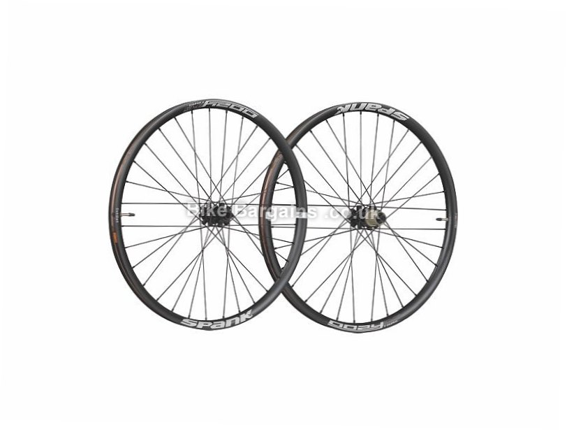 "Spank Oozy Trail 345 Boost MTB Wheels 29"", Black, 9 Speed, 10 Speed, 11 Speed"