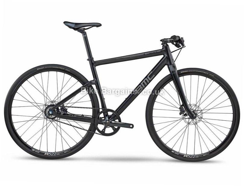 BMC Alpenchallenge AC01 Alfine 8 Disc Alloy Hybrid City Bike 2017 S, Black