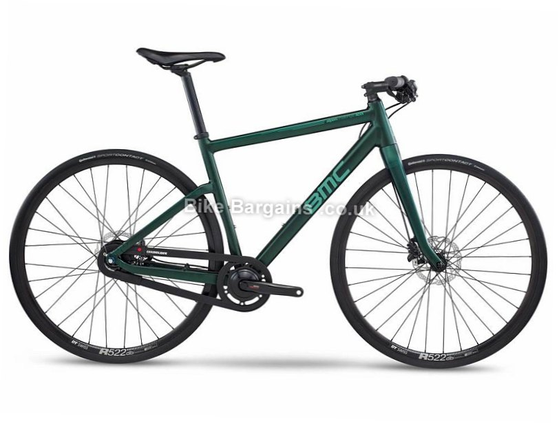 BMC Alpenchallenge AC01 Nexus 8 Disc Alloy Hybrid City Bike 2017 M,L, Green