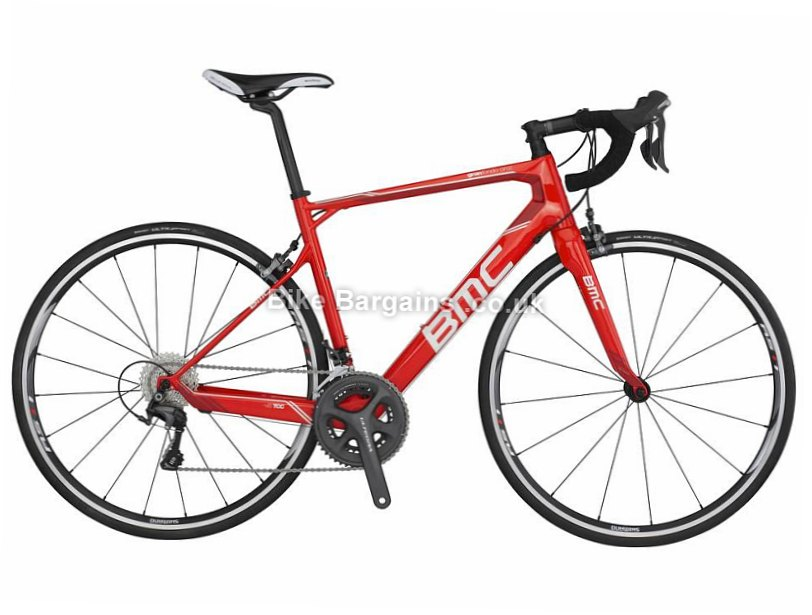 BMC Granfondo GF02 Ultegra Carbon Road Bike 2016 48cm, Red, Carbon, Calipers, 11 speed, 700c, 8.3kg