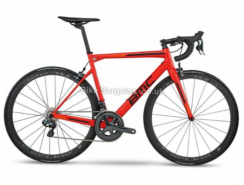 BMC Teammachine SLR01 Ultegra Di2 Carbon Road Bike 2017 61cm, Red, Carbon, Calipers, 11 speed, 700c, 7.1kg