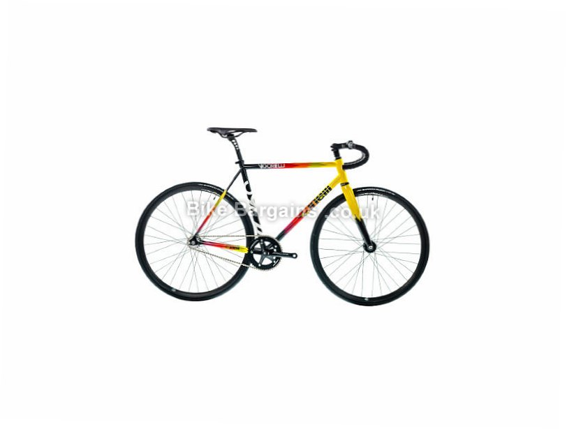 Cinelli Vigorelli Steel Singlespeed Bike 2017 XS, White, Yellow