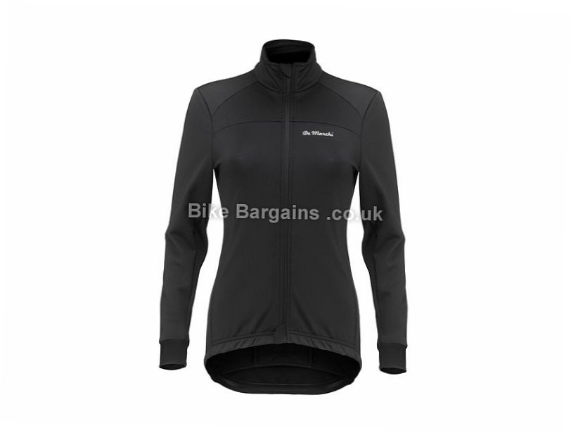 De Marchi Ladies Windproof Jacket 2017 M,L,XL, Black, Women's, Long Sleeve