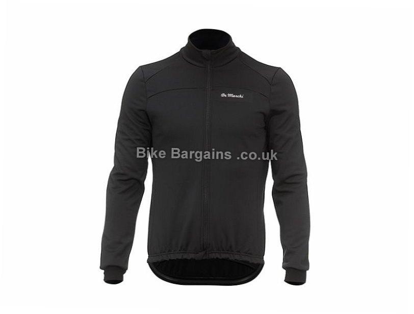 De Marchi Windproof Jacket 2017 S,M, Black, Men's, Long Sleeve