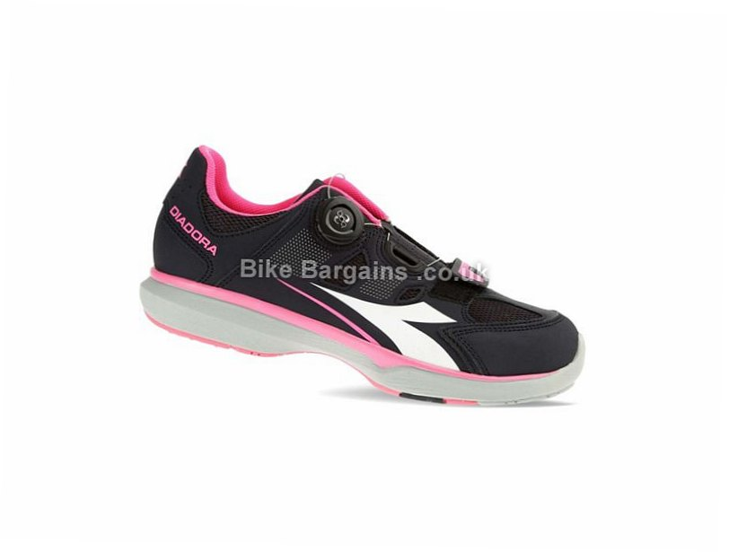 Diadora Gym W Ladies Casual Road Shoes 36,37,38,39,42, Black, Pink, Blue